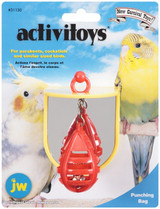 JW Activitoys Punching Bag Plastic Jingling Bell Bird Toy Small