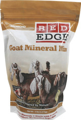 Redmond Red Edge Goat Mineral Mix Sea Salt Vitamin Formula Healthy Balance 5 lbs