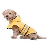 Ethical Fashion Pet Rainy Days Slicker Yellow Large | Raincoat for Dogs