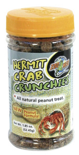 Zoo Med Hermit Crab All Natural Peanut Butter Crunchies Nutritious Tasty Treats