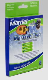 Fritz Aquatics Mardel Maracyn Two 8 count | 0.6 gm each | Aquarium Medication