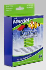 Fritz Aquatics Mardel Maracyn 24 count | 0.6 gm each | Medication for Aquariums