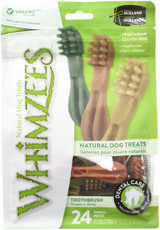 Whimzees Small Toothbrush Natural Healthy Vegetable Gluten Free Dog Dental Treat