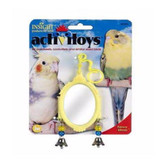JW Pet Activitoy Fancy Mirror Small Bird Attractive and Delightful Bells Toy