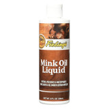 Fiebing's Mink Oil Liquid 8 ounce | Leather Care with Neatsfoot Oil