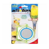 JW Pet Activitoy Double Axis Intellectually Stimulating Mirror Plastic Bird Toy
