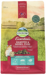 Oxbow HEALTHY HANDFULS Hamster and Gerbil Complete Stabilized Food 1 lb