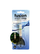 JW Pet Fusion Smart Temp | Standing Weighted Fins Style | Aquarium Thermometer