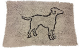 Ethical Pet Clean Paws Spot Micro Fiber Dog Mat 31 inches by 20 inches Tan