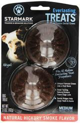 StarMark EVERLASTING DOG TREAT Hard Chew HICKORY SMOKE MEDIUM