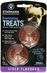 StarMark EVERLASTING DOG TREAT Hard Chew LIVER SMALL