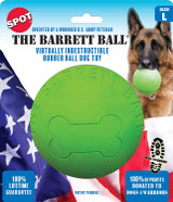 Ethical SPOT Barrett Ball Virtually Indestructible Rubber Ball   Large Dog Toy