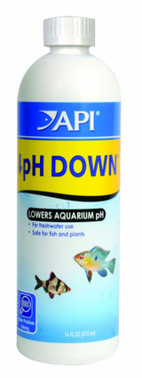 API pH Down for Lower Aquarium pH 16 Ounces