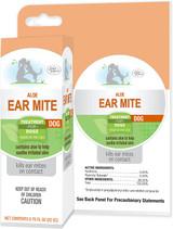 Four Paws Aloe Ear Mite Pyrethrin Treatment for Dogs 0.75 ounce