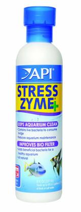 API Stress Zyme Bottle Contain Bacteria Consume Sludge Keeps Aquarium Clean 8 oz