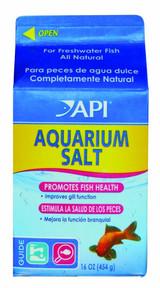 API Aquarium Salt Reduce Stress for Fish 16 ounces