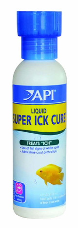 API Liquid Super Ick Cure Kills Ich Parasite Replace Natural Protective Skin 4oz