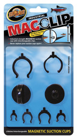 Zoo Med Labs Magclip Magnetic Suction Cups Industrial Strength Interchangeable