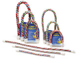 JW Comfy Perch Cable Interactive Cage Toy for Birds Multicolor Small 21 inch
