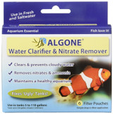 Algone Water Clarifier and Nitrate Remover for Aquariums | Treats 330 Gallons