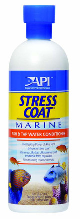 API Marine Stress Coat Tap Water Conditioner 16 Ounces