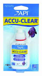 API Accu-Clear Carded Quickly Clears Cloudy Water for Aquarium 1.25 ounces