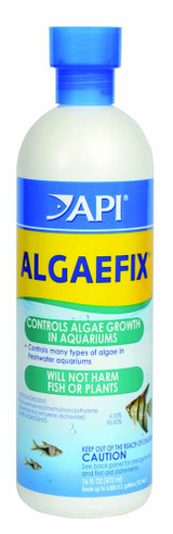 API AlgaeFix for Aquariums 16 Ounces
