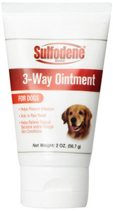 Sulfodene 3-Way Ointment 2 oz   Pain Relief and Infection Prevention for Dogs
