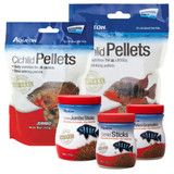 Aqueon Cichlid Pellets Medium Food for Fish 7.5oz