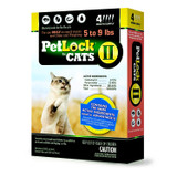 PetLock II Topical Flea Treatment for Small Cats 5-9 pounds 4 doses