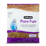 ZuPreem Pure Fun Bird Food for Small Birds 2 pounds