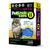 PetLock II Topical Flea Treatment for Large Cats Over 9 pounds 4 doses