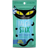 Tiki Cat Stix Grain Free Wet Mousse Treats for Cats Tuna 3ounce Pouches 12 Count