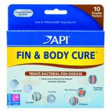 API Fin & Body Cure Powder 10 Packets