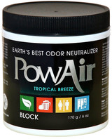 PowAir | Odor Neutralizer Block | Tropical Breeze | 6oz