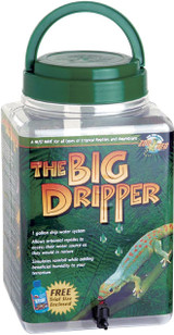 Zoo Med The Big Dripper 1 Gallon Drip Water System for Tropical Reptiles