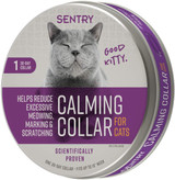 Sentry Behavior and Calming Collar For Cats, One 30-Day Collar