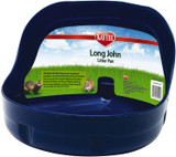 Kaytee Long John with Built in Hooks Small Animal Litter Pan (Assorted Colors)
