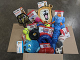 Assorted Medium Dog Toy Box - 6 Assorted High Quality Name Brand Dog Toys
