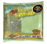 Zoo Med Hermit Crab Calcium Sand Substrate, 2 Pounds - Green