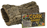 Zoo Med Natural Cork Bark Round Large for Reptile Terrariums
