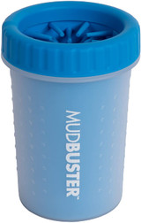 Dexas Petware Mudbuster PRO BLUE Medium 5.8 ounces | Portable Dog Paw Cleaner
