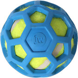Petmate JW Pet Holee Roller Lime Green Tennis Ball Mini Dog Toy Assorted Colors