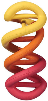 Petmate JW Dogs iN Action Durable Rubber DNA Dog Toy Small - Assorted Colors