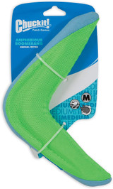 Petmate CHUCKIT Amphibious Boomerang Durable Dog Toy Medium - Assorted Colors