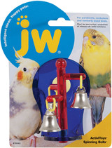 Petmate JW Activitoys Spinning Bells Bird Toy - Assorted Colors