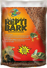 Zoo Med Reptile Bark Natural Reptile Bedding Made of 100% Pure Fir Bark 8-Quarts