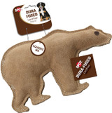 SPOT Ethical Pet Dura-Fused Leather, Large Durable Bear - Dog Toy