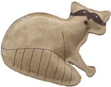 SPOT Ethical Pet Dura-Fused Leather, Small Durable Beaver Dog Toy