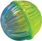 SPOT Ethical Pet 4 Plastic Shimmering Rattle Balls For Cats & Kittens